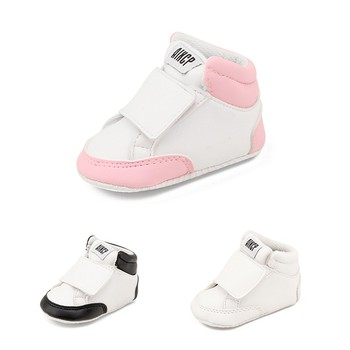 Toddler Baby Boy Girl Shoes PU Leather Stitching Classic Casual Sneakers Spring Baby Girl Boy Childrens Shoes