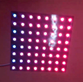 free shipping 8*8 64 LEDs 5050 RGB WS2812 WS2812B Full Color Digital Flexible Pixel Panel Individually addressable DC5V 8*8cm