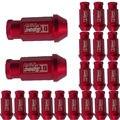 Apoyo 20 unids EE X Para Honda Civic Accord Acura JDM D1 Spec Tuercas de las Ruedas M12 X1.25MM Rojo XY01