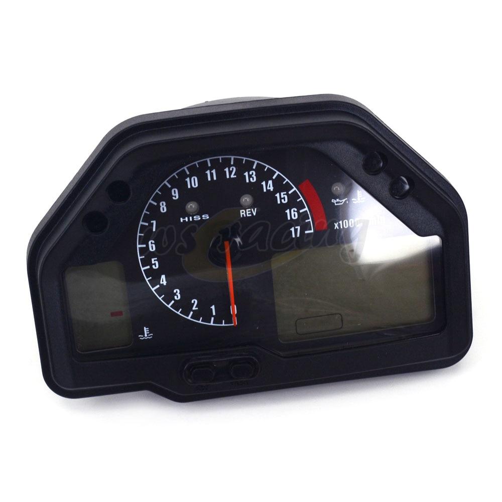 Motorcycle Tachometer Odometer Instrument Speedometer Gauge Cluster Meter For HONDA CBR600RR F5 2003-2006 03 04 05 06 motorcycle parts speedo meter gauge tachometer instrument case cover for 2003 2004 2005 2006 honda cbr600rr cbr 600 rr