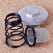DWCX Motorcycle Scooter Oil Filter Drain Strainer Plug Set Kit fit for GY6 50cc 125cc 150cc Chinese Moped Baotian Benzhou Taotao