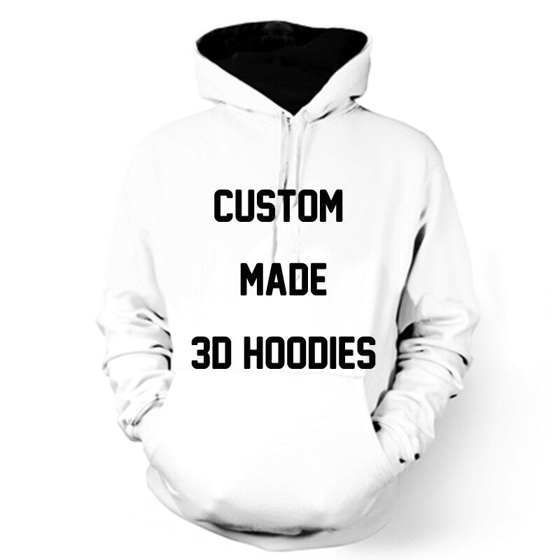 ONSEME Kunden Nach 3D Hoodies Anime/Tier/Galaxy/Kunst/Graffiti/Charakter Muster Anpassen Hoodie Pullover drop Verschiffen