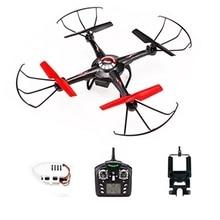 5.8G Hz WLtoys V686 V686G (Versión FPV) 4CH Drone juguete del bloque Quadcopter JJRC V686 HD Cámara RTF Drone Headless Modo juguete light-up