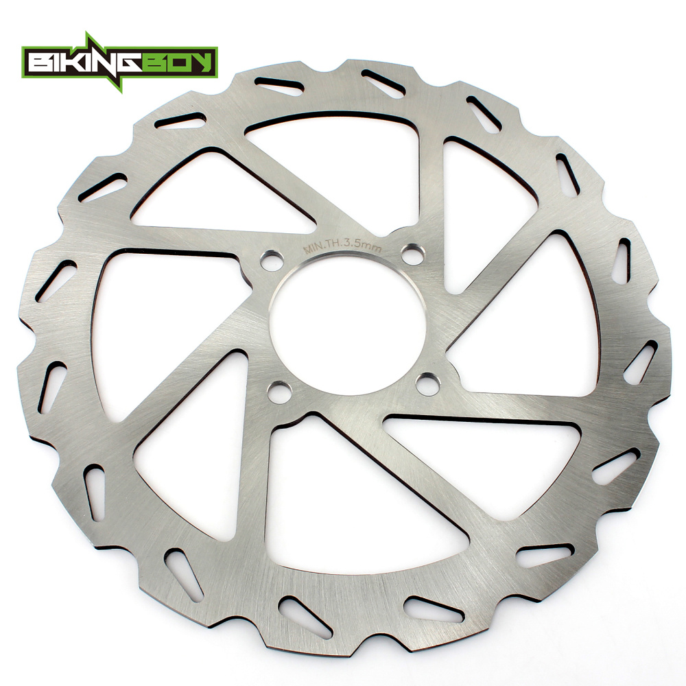 small resolution of atv quad rear brake disc rotor for yamaha yfm 350 yfm350 xa xb xd xh