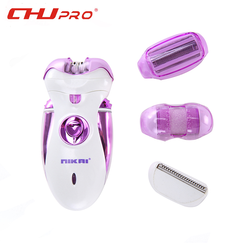 Wool Device Knife Electric Shaver NIKAI 4 in 1 Women Shave  Wool Epilator Shaving Lady's Shaver Female Health Care