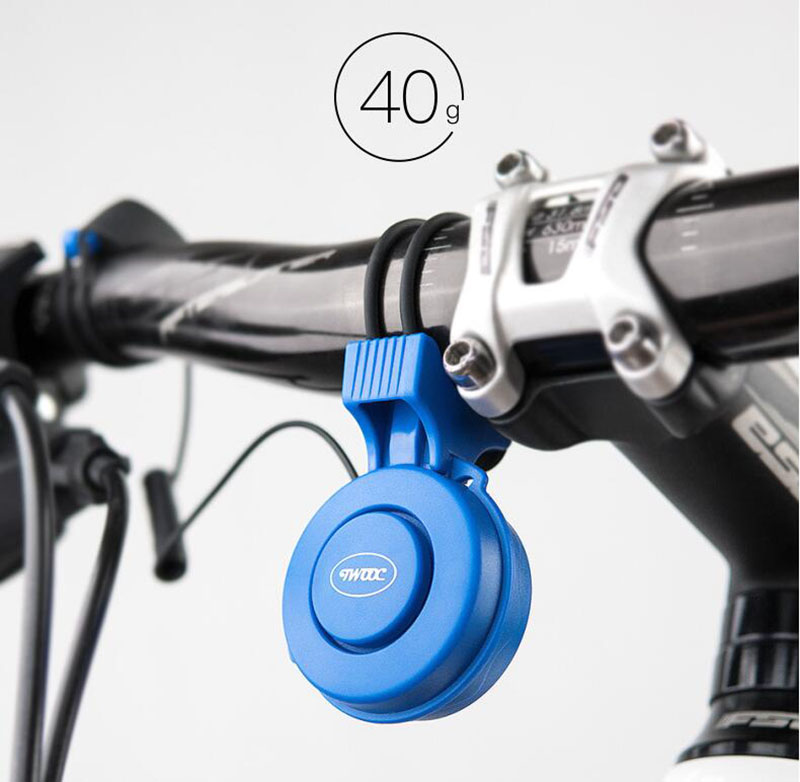 120 db Bicycle Bell Waterproof Cycling Electric Horn Safety Bike Alarm Bell Sound Handlebar Ring Strong Loud Cycle Speaker