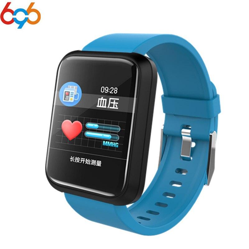 696 Sport3 Smart Watch hombres presión arterial IP68 impermeable Fitness Tracker reloj Smartwatch para IOS Android dispositivos Wearable