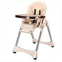 Многофункциональный портативный столик для кормления малыша складной стул для кормления ребенка с материалом из нержавеющей стали