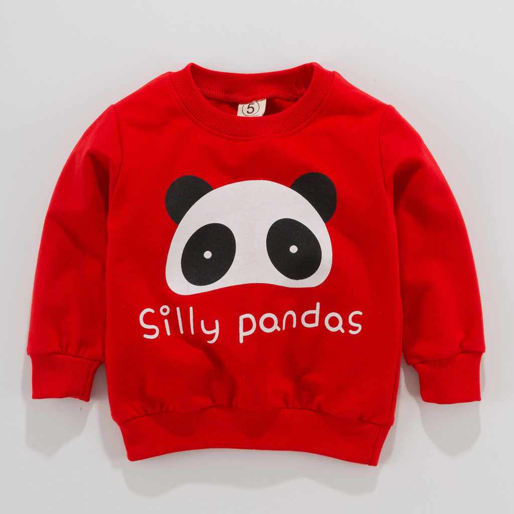 Baby Boys Kids Tops Clothes Toddler Kid Baby 0-2 Years Boy Clothes Long Sleeve Cartoon Print T-shirt Tops Roupa Infantil Menina