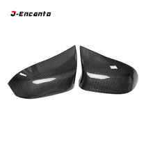 Replacement Style and M look For BMW X3 F25 X4 F26 X5 F15 X6 F16 Carbon Fiber Rear Side View Mirror Cover 2014 - 2017