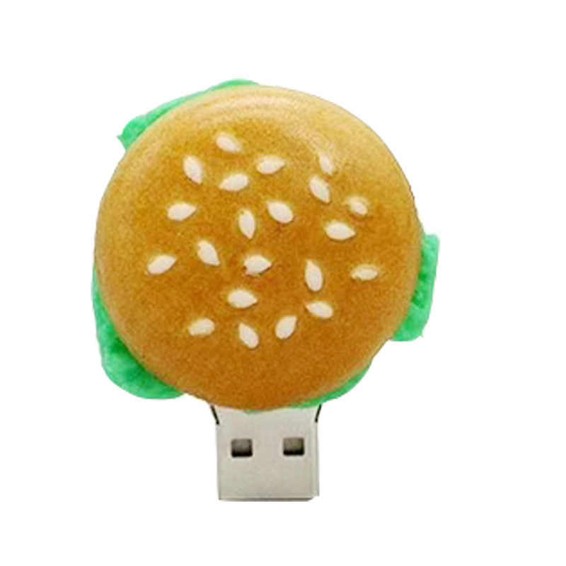 Strawberry Nanas Flashdisk Pizza Hamburger USB Flash Drive 4GB 8 Gb 16GB 32GB 64GB USB STICK memori Alpukat Semangka U Disk