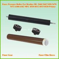 Fuser Film Sleeve Fuser Pressure Roller Gear For Brother MFC 8510 8910 DCP 8110 8112 8150