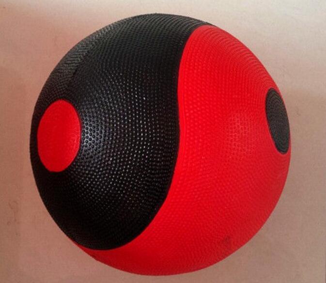 22cm 2kg pcs Nature Rubber Tai Chi ball Medicine ball Gravity ball Fitness Balls