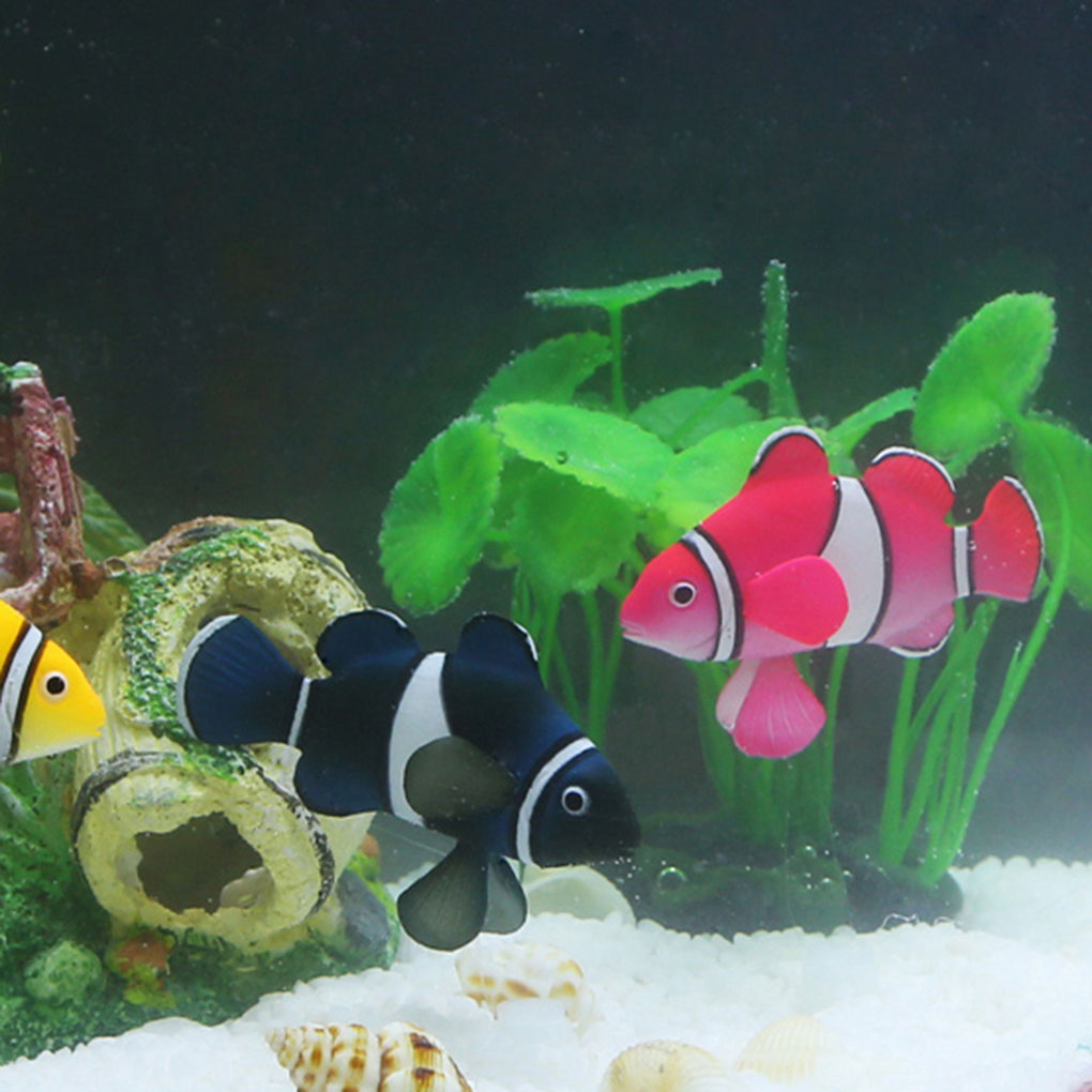 Fish aquarium for sale in pakistan - New Arrival Aquarium Decorations Simulation Silica Gel Clown Fish Tank Landscape Ornamental China Mainland