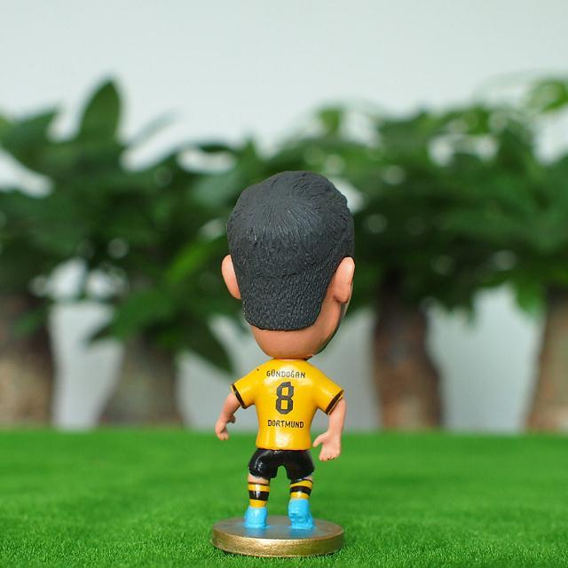 Soccer Star 8# GUNDOGAN (BVB-2015) 2.5 Action Dolls Figurine