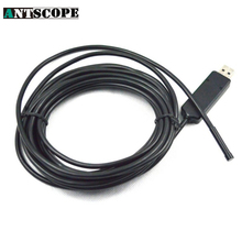 Antscope 2M 6LED 7mm Focus Camera Lens Mini USB Endoscope Borescope Snake Inspection Video Camera Waterproof