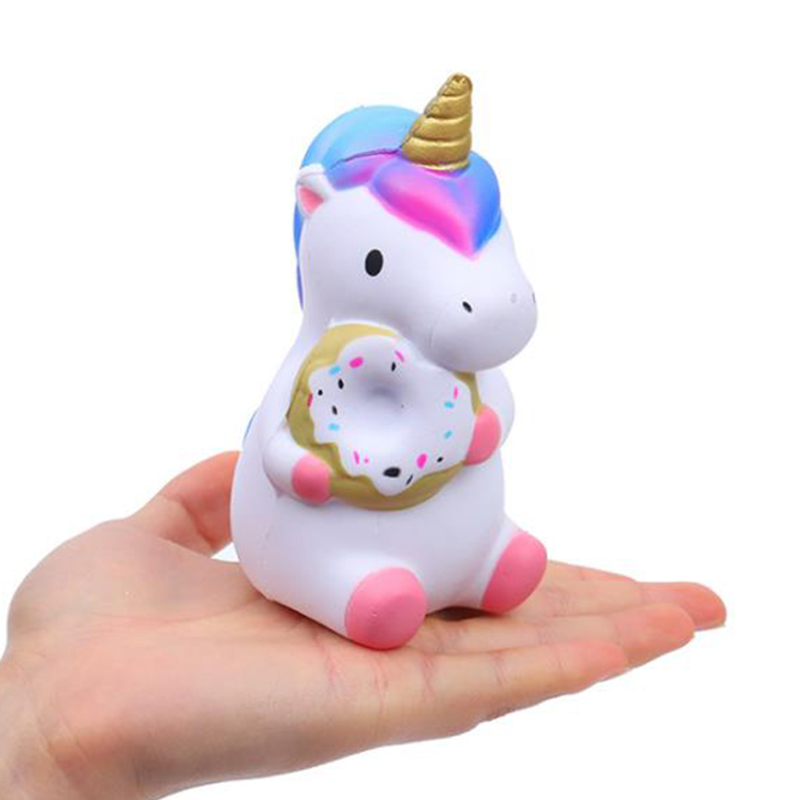 Kawaii Colorful Unicorn Squishy Simulation Doll Bread Scented Slow Rising Soft Squeeze Toy Stress Relief for Funny Kids Gift Kawaii Colorful Unicorn Squishy Simulation Doll Bread Scented Slow Rising Soft Squeeze Toy Stress Relief for Funny Kids Gift