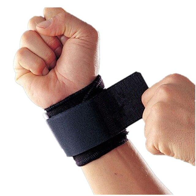 Фиксатор запястья защита для колена Регулируемый тренировочный повязка на запястье для упражнений наручные Бинт Эластичный Напульсник артрит