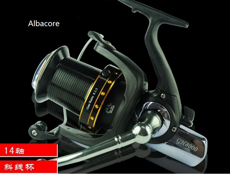 Albacore 8000 Spinning reel for Remote casting device suitable for Ocean Boat fishing