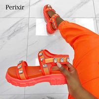 Summer Flat Sandals Women Shoes 2019 New luxury Brand Designer Sandals Black Ladies Leather Sandals Shoes Woman sandalias mujer