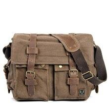 Muchuan ткань Европа и США для восстановления древних способов MS холщовая мужская сумка через плечо сумка на одно плечо мужская Холщовая Сумка
