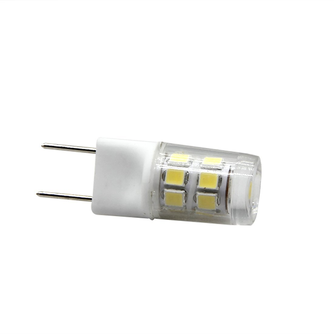 10pcs Led G8 2W Bi-pins bulb 6000k 120v 20w 25w xenon halogen lamp Equivalent Non-Dimmable for puck under cabinet light
