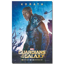 KORATH Guardian of The Galaxy Art Silk Fabric Poster Print 13X20 inch Superheroes Movie Picture for