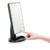 Tela Sensível Ao Toque de LED Espelho de Vaidade Espelho de Maquiagem Profissional Com 16 Luzes LED Ajustáveis Bancada 180 Girando Lupa Livre