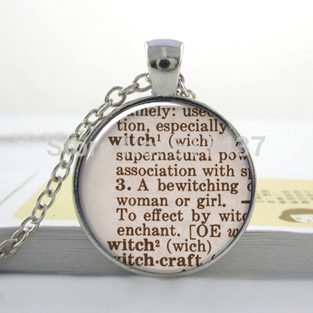 Hz1 witch dictionary necklace halloween jewelry witch pendant charm hz1 witch dictionary necklace halloween jewelry witch pendant charm necklace samhain glass dome necklace aloadofball Choice Image