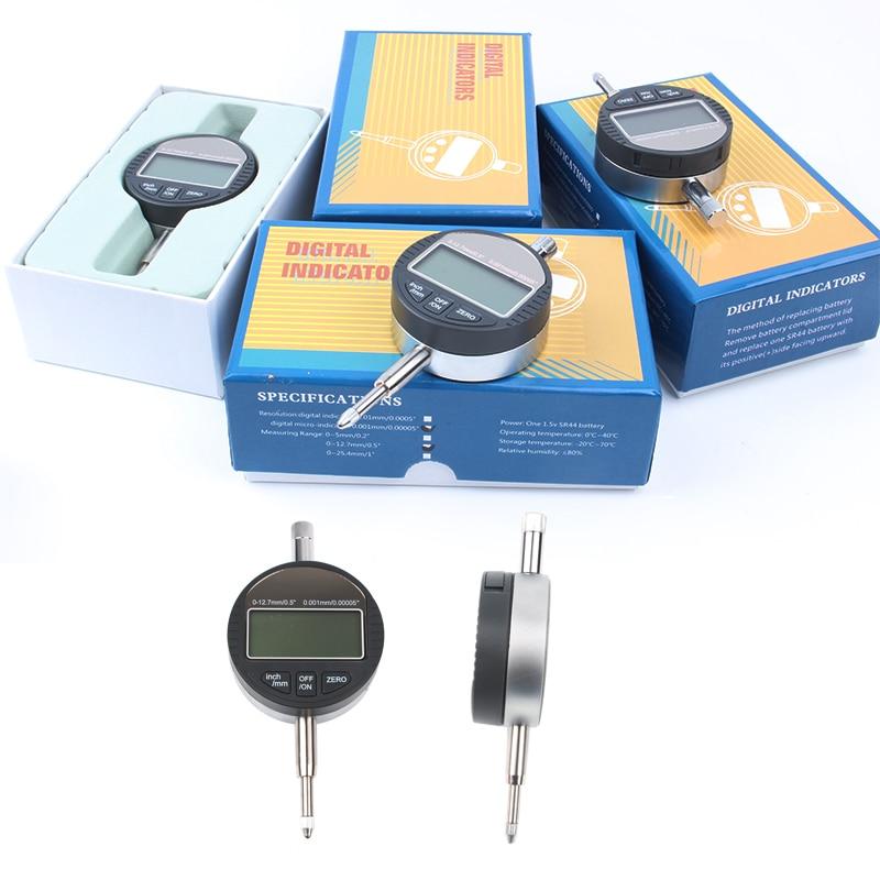 0.001mm Digital Dial Indicator Precise Micrometer 12.7mm/1