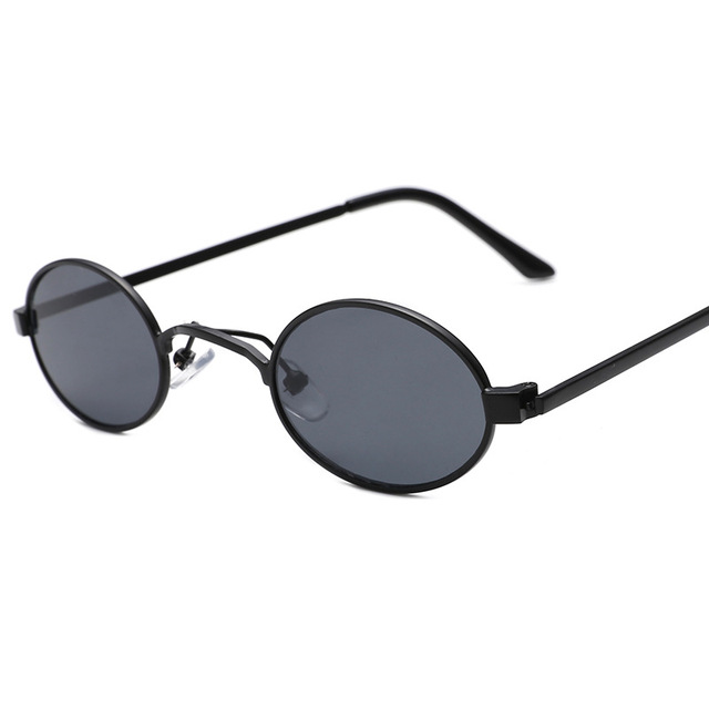 bbcb90511bc Lukoko 2018 Round Cool Sunglasses Women Men Metal Vintage Small Frame Sexy  Travel Eyeglasses Brand Designer Gafas
