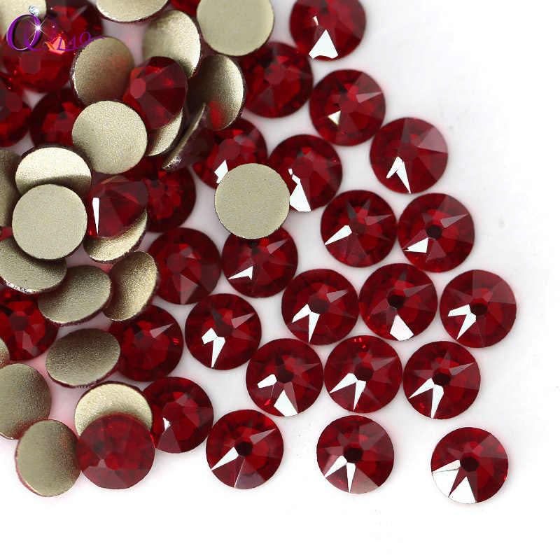 QIAO SS16-SS20 8 big 8 small Crystal Glass Rhinestone For Clothes 2088 Siam  Color 285eb45da60c