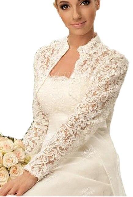 Chaquetas encaje para vestidos novia