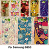 TAOYUNXI Hard Soft Cases For Samsung Galaxy Alpha G850F G850T G850M G850FQ G850Y Galaxy Alfa G850 G8508 Covers Flower Back Cases