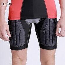 b959248b0 Los hombres acolchado pantalones cortos de ropa interior cadera trasero  almohadilla corta de baloncesto de fútbol Hockey bicicle.