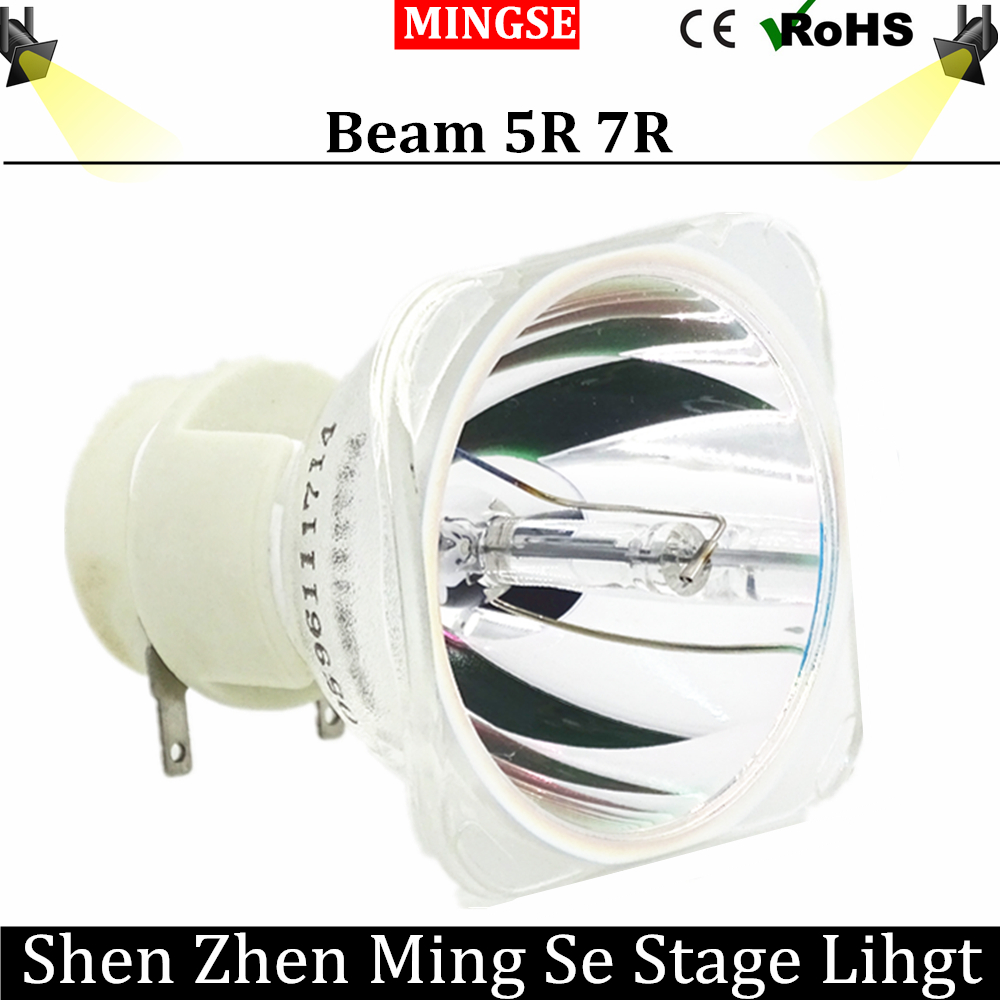 Free shipping Stage light 200W 5R / 7R 230W Metal Halide Lamp moving beam lamp 230 beam Platinum Metal Halogen Lamps Follow spot цена и фото