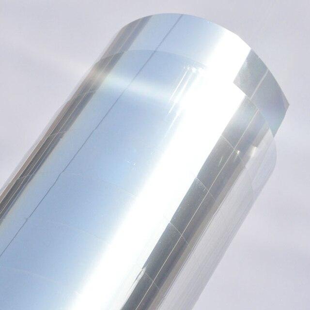 Plafond Fenêtres Soleil Isolation Miroir Film Soleil Chambre à Sens
