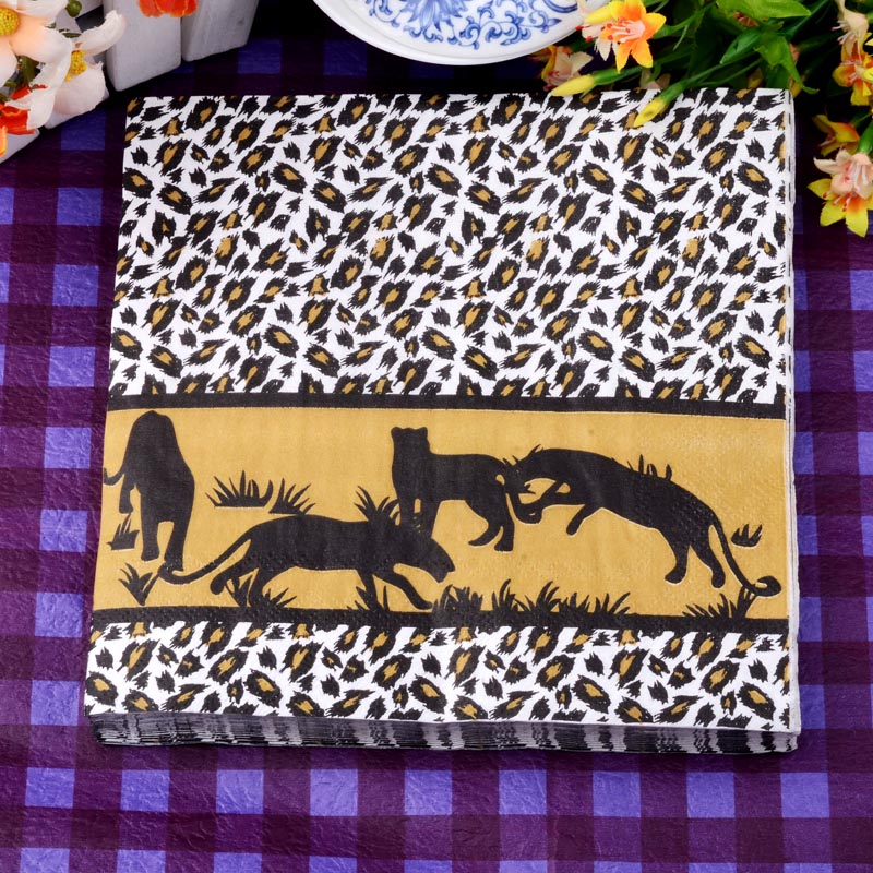 Wholesale retail New Personalized designs table paper napkins tissue