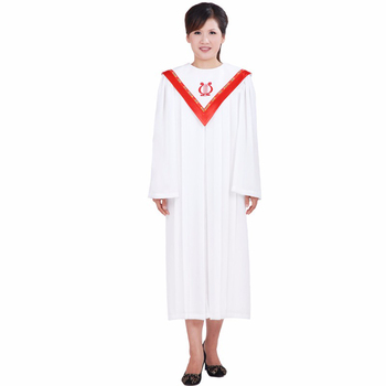 Europe and USA Christian clothing poetry choir Wear The christian choir sing clothing Holy Nun Costume Christian Sing Robe choir of westminster abbey мартин нери эндрю люмсден westminster abbey choir psalms 2 cd