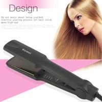 Kemei KM 329 Professional Hair Straighteners Flat Iron Straightening Hair Styling Tools Beauty Care EU Plug