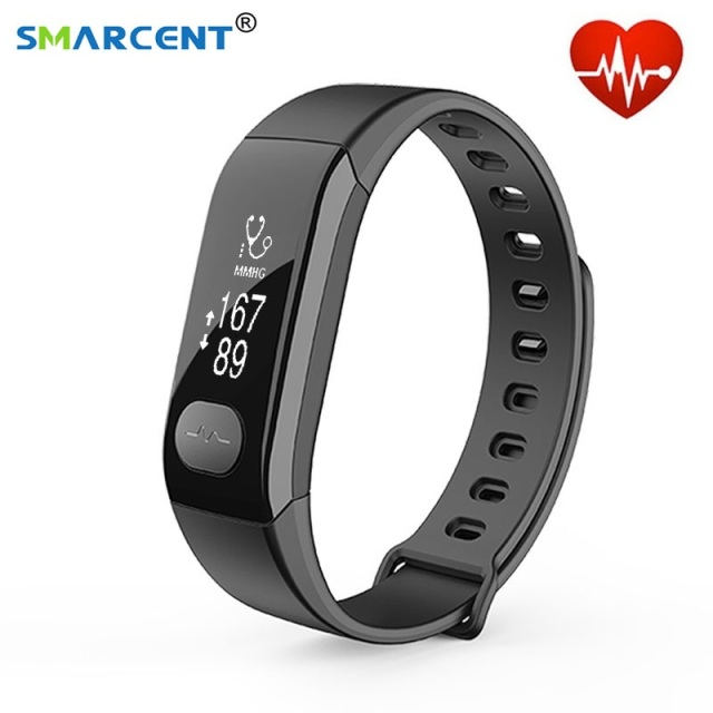 heart monitor smart p pedometer waterproof sku red w rate bracelet