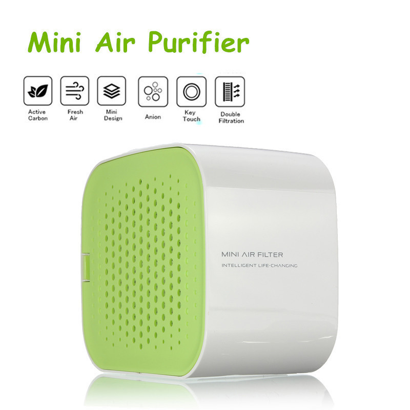 Smart Mini E Ozone Oxygen Bar Anion Ionizers Car Office Home Air Purifier Cleaner Negative Ionizer Generator In Purifiers From Liances