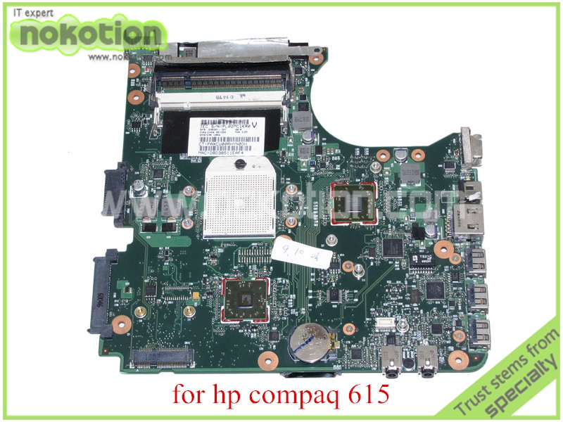 NOKOTION SPS 538391-001 For hp compaq 515 615 CQ515 CQ615 Laptop motherboard DDR2 574680 001 1gb system board fit hp pavilion dv7 3089nr dv7 3000 series notebook pc motherboard 100% working
