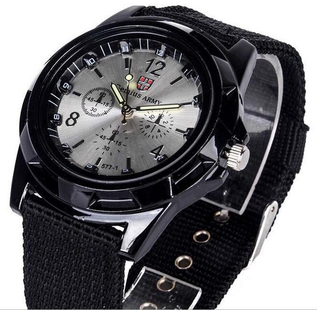 Luxury Brand Fashion Bracelet Military Quartz Watch Men Sports Wristwatches Clock Hour Male Relogio Masculino 8O35
