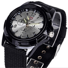 Luxury Brand Fashion Bracelet Military Quartz Watch Men Spor