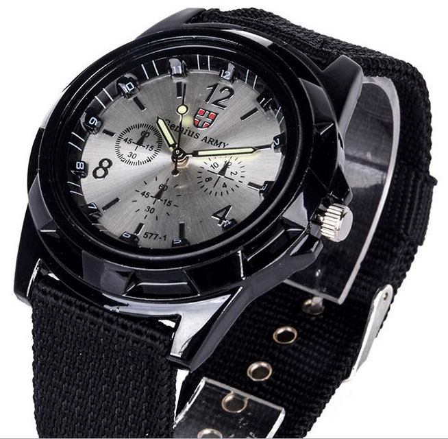 Luxury Brand Fashion Bracelet Military Quartz Watch Men Sports Wrist Watch Wristwatches Clock Hour Male Relogio Masculino 8O35