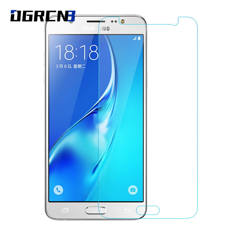 Galleria fotografica 2.5D Tempered Glass For Samsung Galaxy J3 J5 J7 2016 2015 Screen Protector For Samsung Galaxy S3 S4 S5 S6 Tempered Glass Film