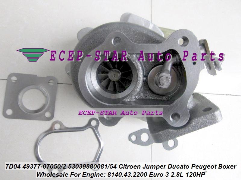 jc-Turbo TD04 49377-07050 49377-07052 53039880081 53039880054 0375F6 Turbocharger (4)