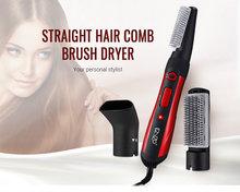 Enzo en-503 3-em-1 estilo de cabelo rotativa escova quente secador alipearl cabelo unice
