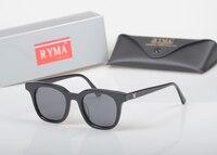 Винтаж Корея BIGBANG солнцезащитных очков небольшой площади оптически рамки Для женщин мужчин Обувь для девочек видения солнцезащитные Стекл...